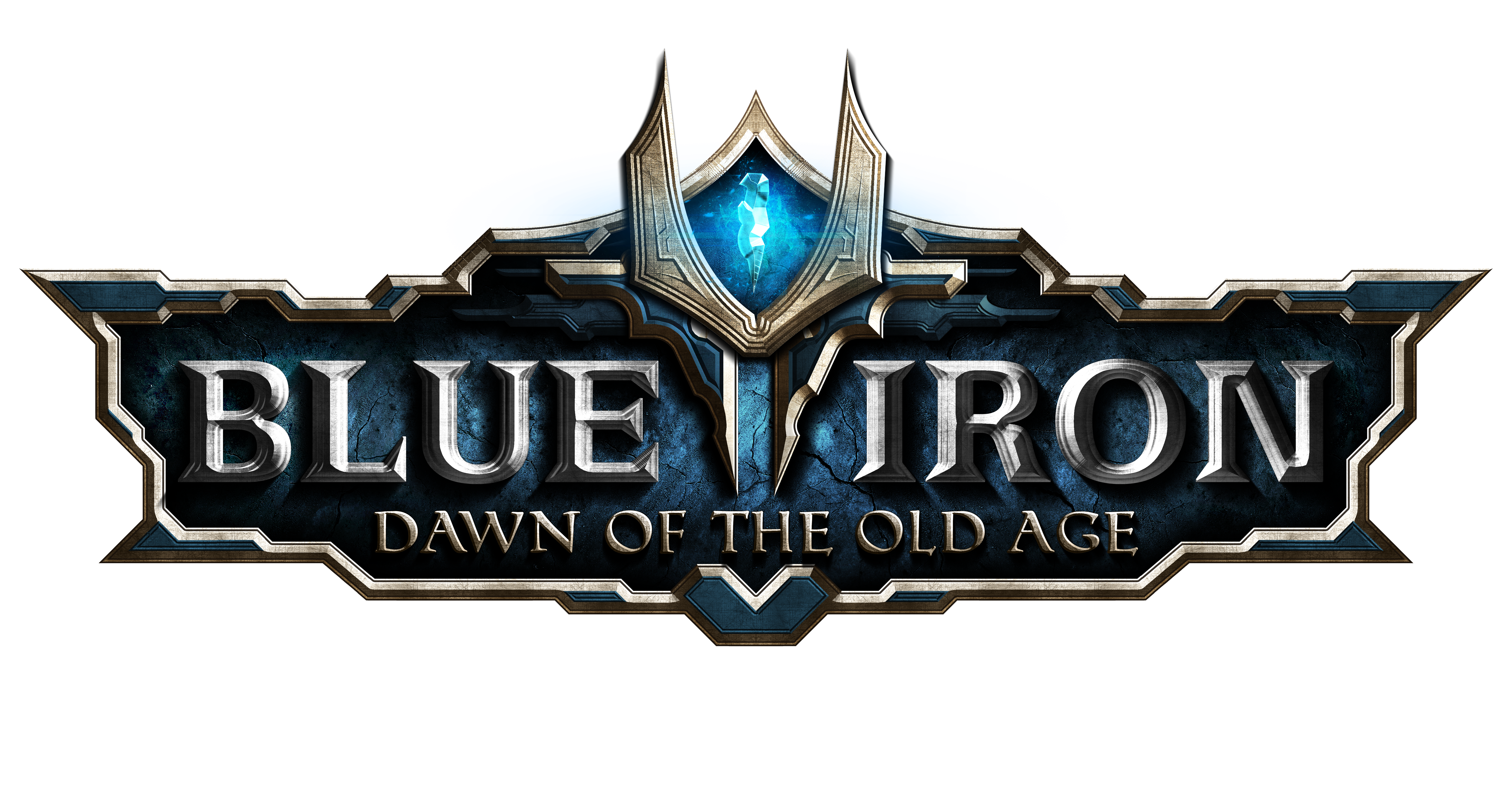 4 tips for the best logo for your game d blue iron dawn of the blue iron texture logo png file altavistaventures Images
